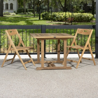 3pc Surf Square Dinette Set