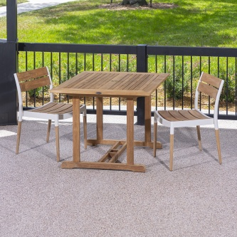 3pc Bloom Square Dinette Set