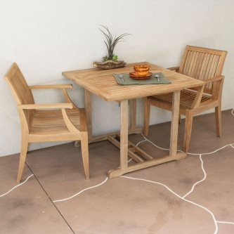 3pc Laguna Square Dinette Set