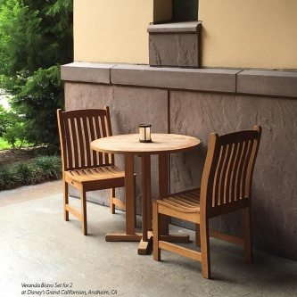 Veranda 3 pc Teak Bistro Set