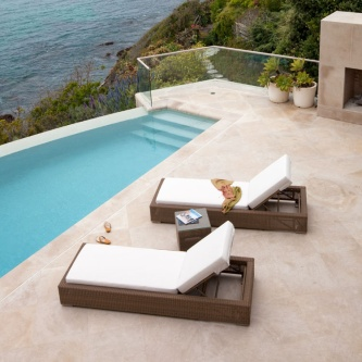 Malaga Double Chaise Set