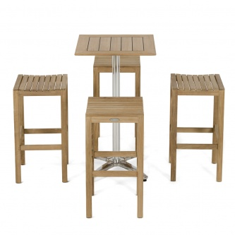 Somerset Backless Barstool Set