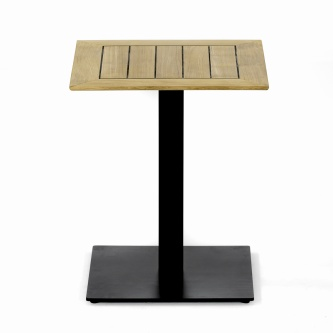 Vogue 24x24 Table Top Black Base Combo