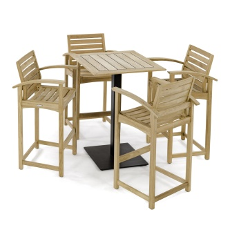 5 pc Somerset Teak Bar Furniture
