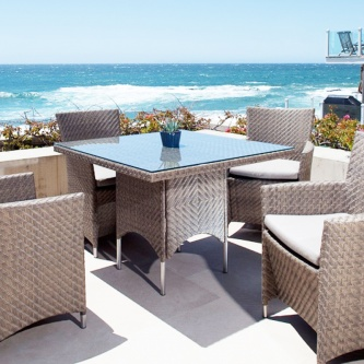 Summer Grass 5 pc Dining Set