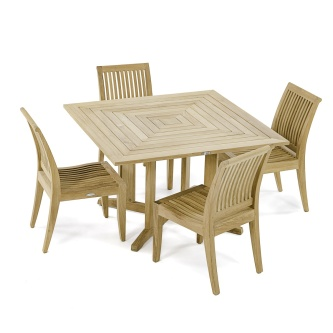 5 pc Laguna Pyramid Dining Set