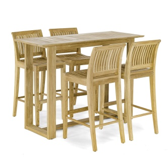 Laguna Horizon Teak Bar Set