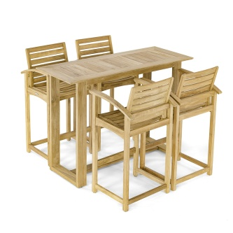 Horizon Somerset Teak Bar Set