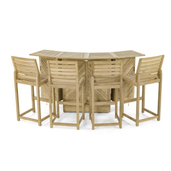 Somerset Teak Bar Set
