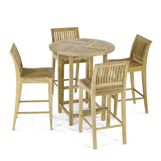Laguna Somerset Side Teak Bar Set