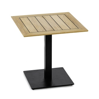 Vogue 30x30 Table Top Black Base Combo