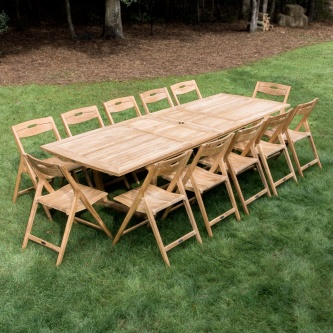 Surf Veranda Dining Set for 12