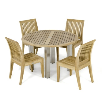 Vogue Laguna 4FT Round Dining Set