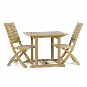 Barbuda 3 piece Square Side Chair Set