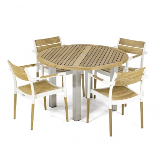 5 pc Vogue Bloom Dining Set