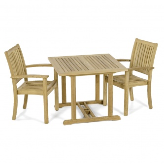 3 pc Sussex Wood Dining Set