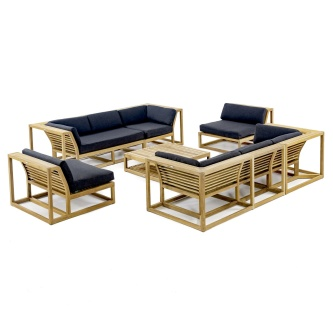 Maya 7 pc Twin Sofa Set