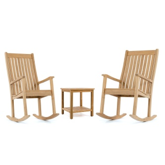 Veranda Rocker Chat Set