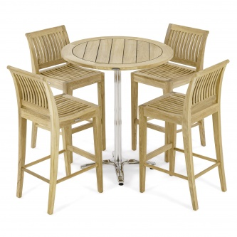 5 pc Vogue Laguna High Top Dining Set