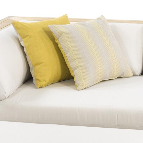 Throw Pillow (18 x 18) - Sunbrella PURE Fabric - Picture E