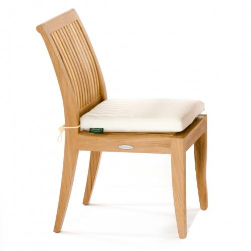 Canvas Sunbrella Dining Chair Cushion - Picture D