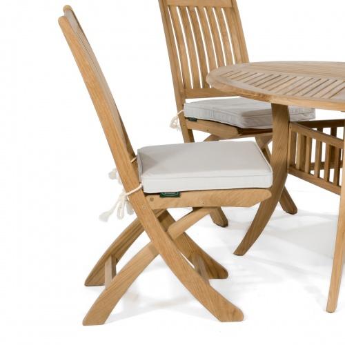 Canvas Sunbrella Dining Chair Cushion - Picture E