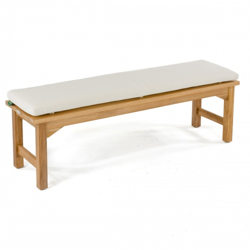 5 FT Backless Bench Cushion - Picture A
