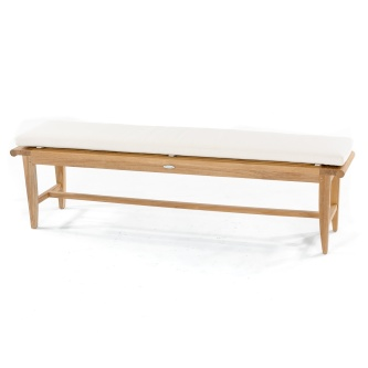 6 ft Backless Bench Cushion