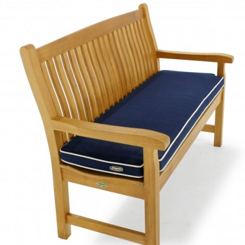 teak bench cushions