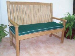 teak bench seat cushions