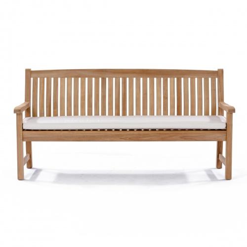 teak 6 ft bench cushions