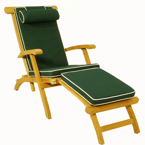 Teak Classic Steamer Cushions