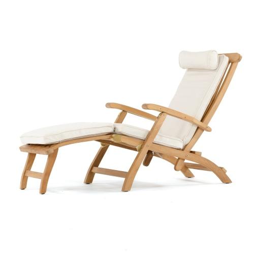 Magnificent Sunbrella Steamer Cushion Theyellowbook Wood Chair Design Ideas Theyellowbookinfo