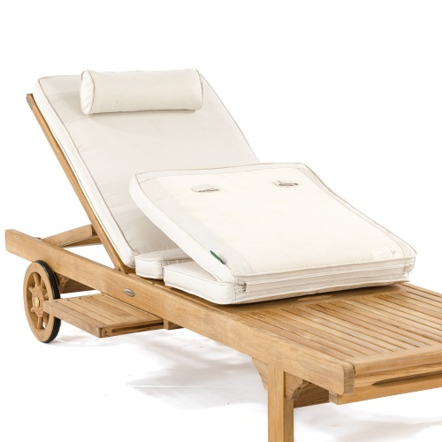 Sunbrella Lounger Cushion - Picture D
