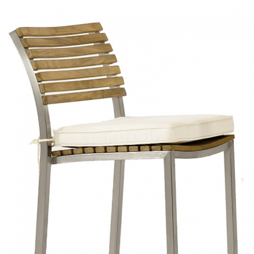 teak barstool seat cushions