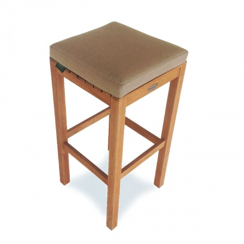 Somerset Backless Barstool Cushion - Picture A