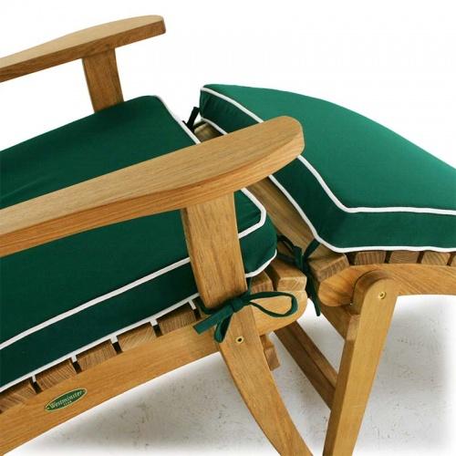 teak adirondack seat cushions