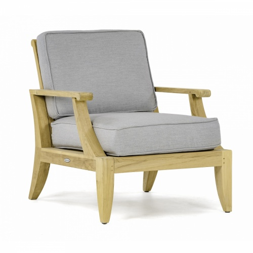Laguna Lounge Chair Cushion - Natte Grey Chine - Picture B