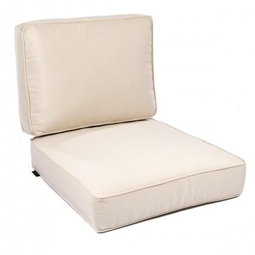 Laguna Lounge Chair Cushion - Natte White - Picture B