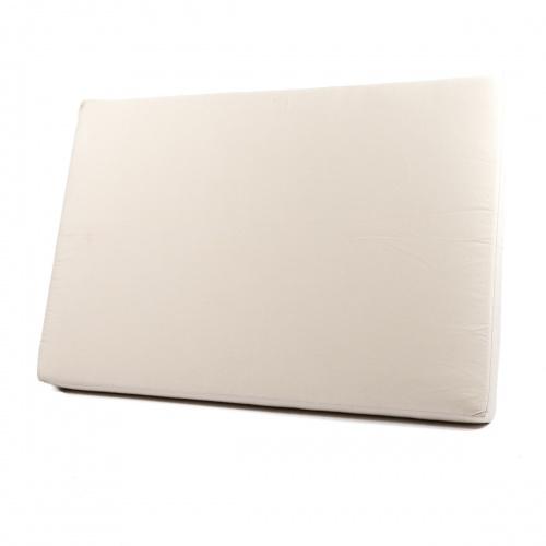 Maya Chaise Cushion Natte White - Picture B