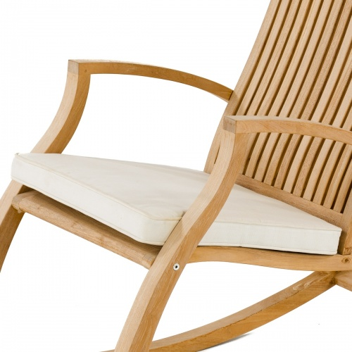 teak rocking chair cushions