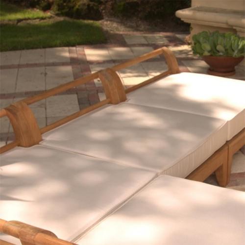 teak sectional cushions