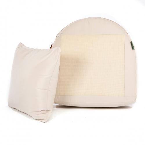 Kafelonia Club Chair Cushion - Natte Sooty - Picture B