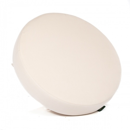 Kafelonia Ottoman Cushion - Natte Sooty - Picture B