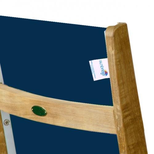12580 Sunbrella Recliner Chair Fabric - Navy Blue - Picture A