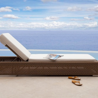 Malaga Chaise Lounger Cushion