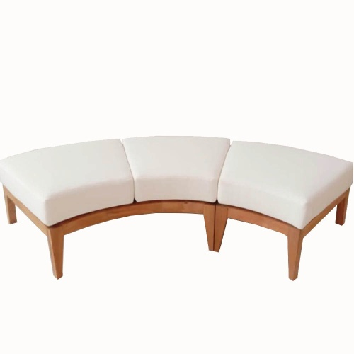 Kafelonia Backless Bench Cushion - Picture B