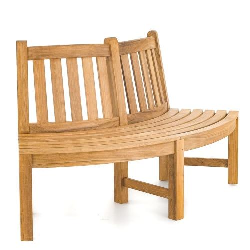 round teak bench cushions