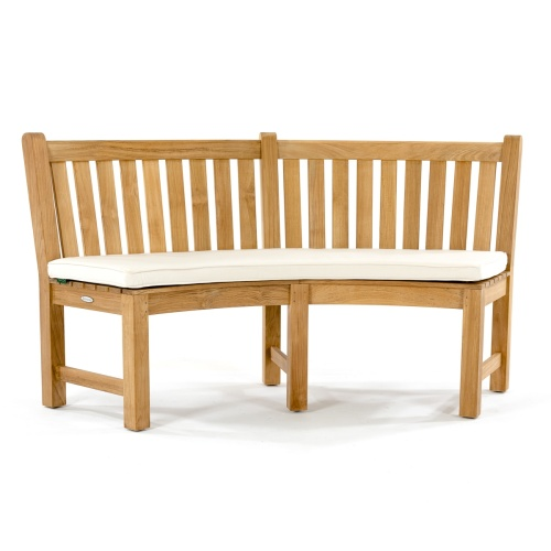 teak tree bench cushions