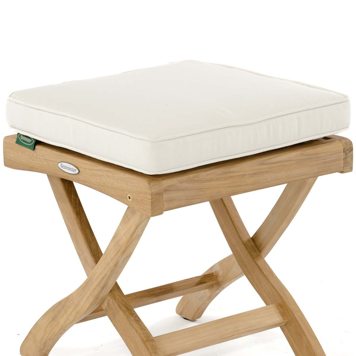 Barbuda Ottoman Cushion Westminster Teak Outdoor Furniture